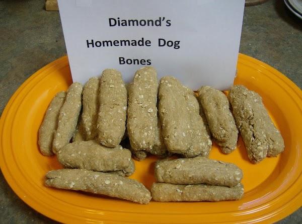 Homemade Dog Bones Recipe