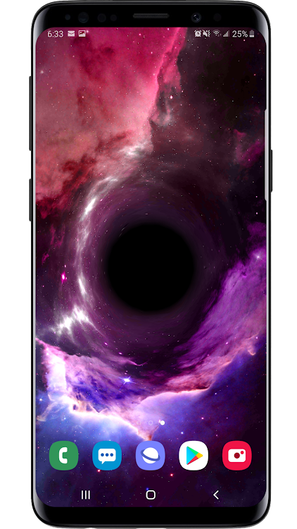 Black Hole Simulation 3d Live Wallpaper Android Apps Appagg