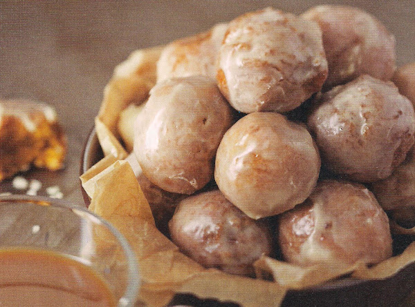 Pumpkin Doghnut Holes With Maple Glaze Recipe