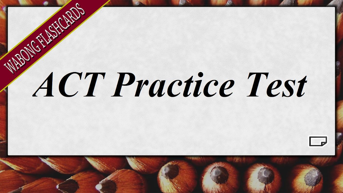 ACT Test Prep Practice and Flashcards – (Android Applications) — AppAgg