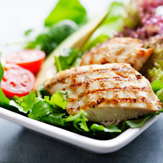 Grilled Lime Chicken Salad.