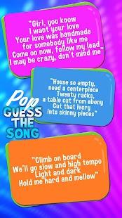 Hádejte Popové Písně Kvíz - náhled