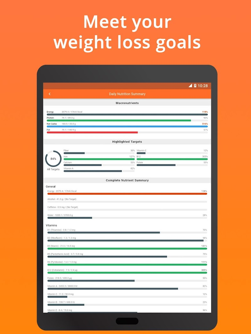 Cronometer – Nutrition Tracker (ad free) Screenshot 11