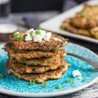 Zucchini, Feta & Leftover Quinoa Fritters Recipe