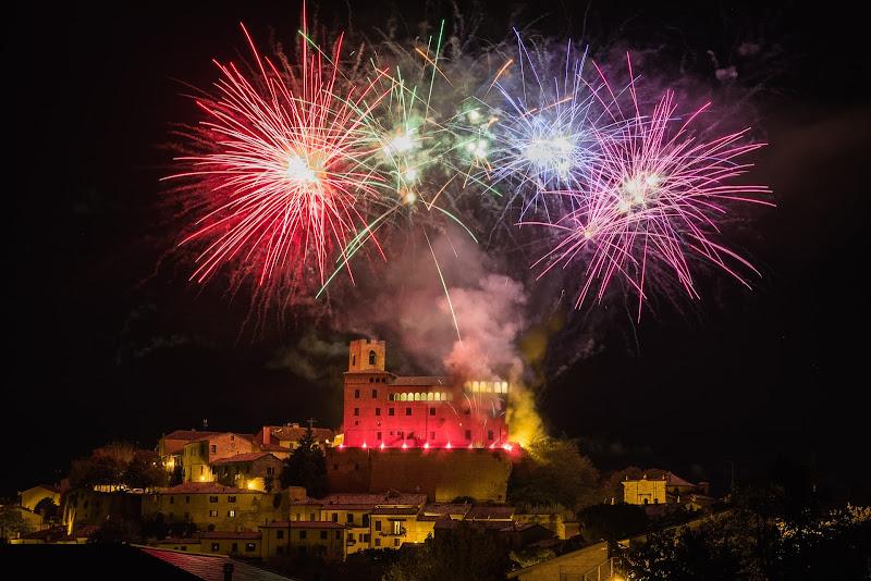 Longiano Incendio al Castello di Mutley
