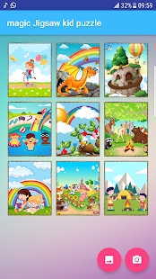magic Jigsaw kid puzzle free Screenshot