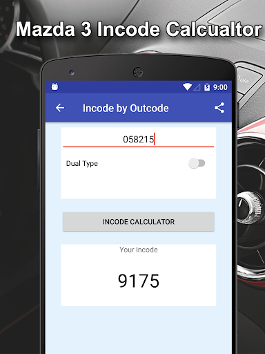Incode by Outcode for Ford/Mazda/LandRover/Jaguar 1.2 screenshots 4