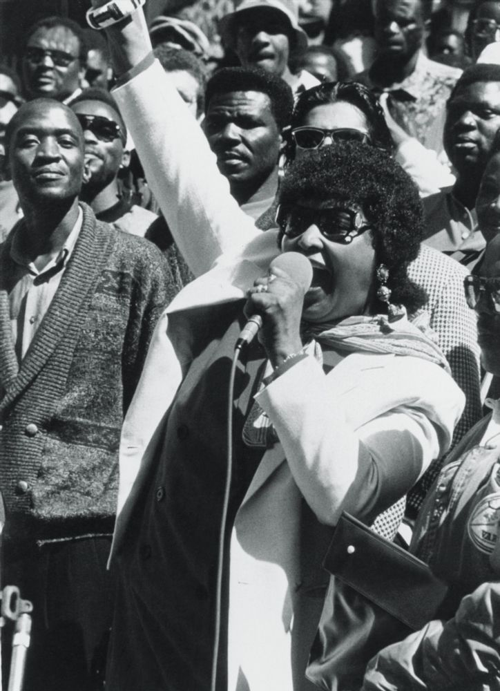 In 1969' Madikizela-Mandela became one of the first detainees under Section 6 of the notorious Terrorism Act of 1967. She was detained for 18 months in solitary confinement in a condemned cell at Pretoria Central Prison before being charged under the Suppression of Communism Act of 1950.