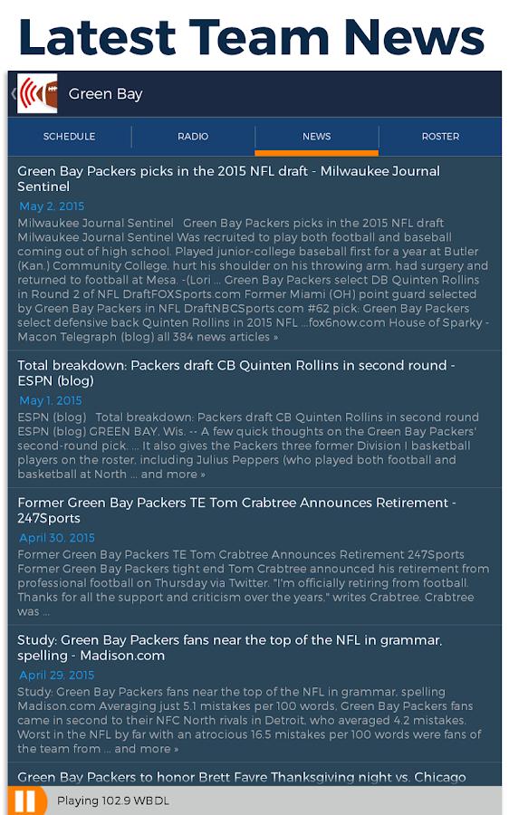 Pro Football Radio- screenshot