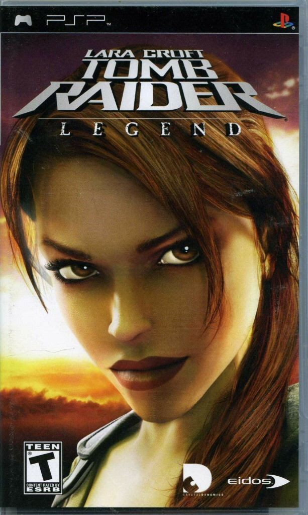 Handheld Video Game Sony Playstation Portable Lara Croft Tomb Raider Legend Sony Computer Entertainment Inc Google Arts Culture