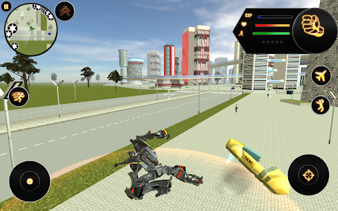 Future Robot Fighter Apk Download For Android and Iphone 6