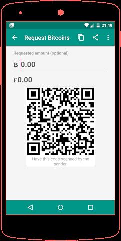 android Bitcoin Wallet Screenshot 1
