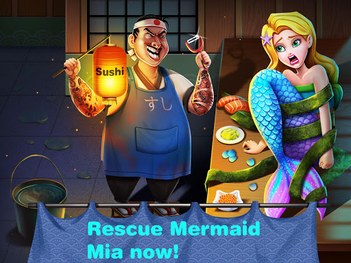 Mermaid Secrets16 – Save a Mermaid Princess Sushi 1.5 screenshots 1