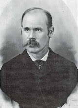 Photo: Nephi Jackson was born on March 8, 1847 in Manchester, England to Benjamin Jackson and Ann Grimshaw.  He married Mary Ann Ockey on January 4, 1880. They were blessed with two children: Ellen Jackson born 1872 and died 1881; and Leon Nephi Jackson born 21 May 1888 and died 9 October 1961.  Nephidied on 13 August 1928.