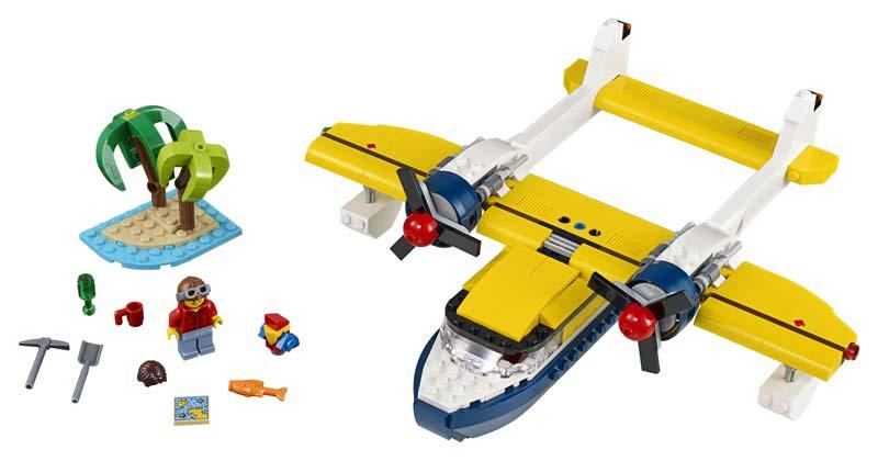 Contenido de Lego® 31064 Aventuras en la Isla