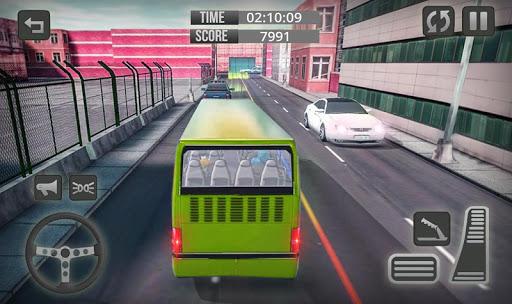 Télécharger Gratuit City Bus Driver Game 3D : Tourist Bus Games 2019 APK MOD (Astuce) screenshots 4