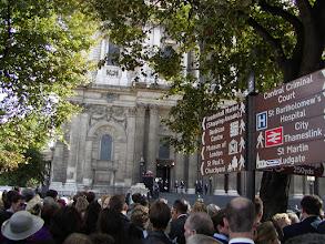 Photo: St. Paul's 9/16/2001