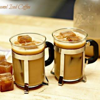 Caramel Iced Coffee.