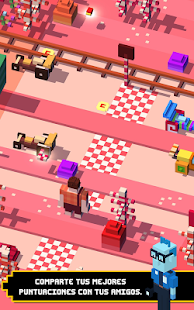Disney Crossy Road: miniatura de captura de pantalla
