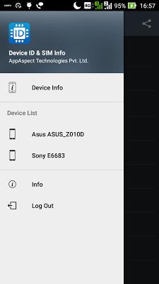 Device ID & SIM Info - screenshot