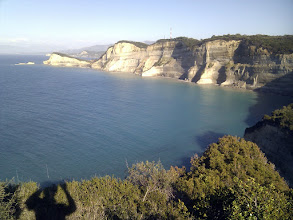 Photo: view from Drastis cape