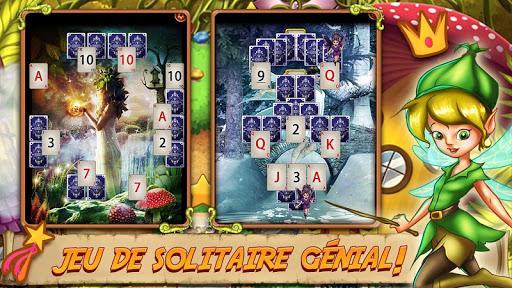 Solitaire Quest - Elven Wonderland Story APK MOD (Astuce) screenshots 1