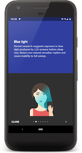 Twilight 🌅 Blue light filter for better sleep 5