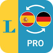 Spanish <> German Talking Dictionary Professional