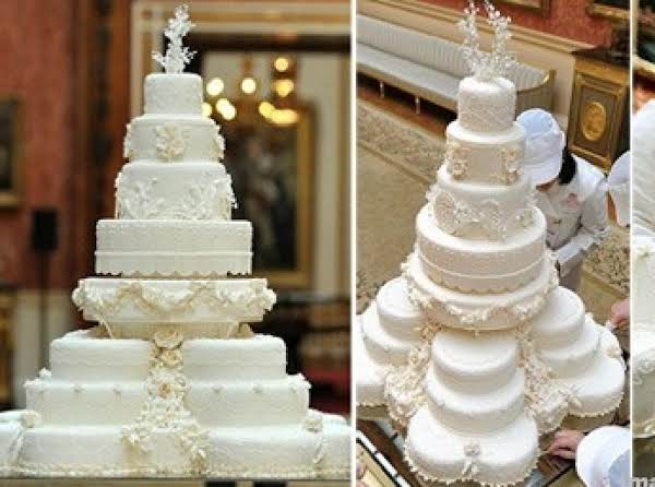 This Is A Photo Of A Royal Wedding Cake. . . . With Loving Wishes For The Newly Weds To Find A Life Time Of Love In Royal Style.