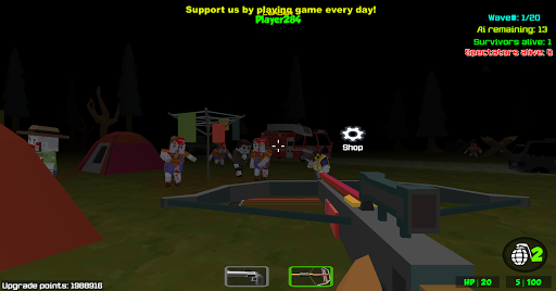 Combat Pixel Arena 3D - Zombie Survival cheat screenshots 2
