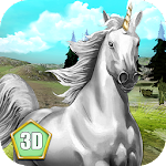 Unicorn Survival Simulator 3D Icon