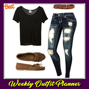 Weekly Outfit Planner - náhled