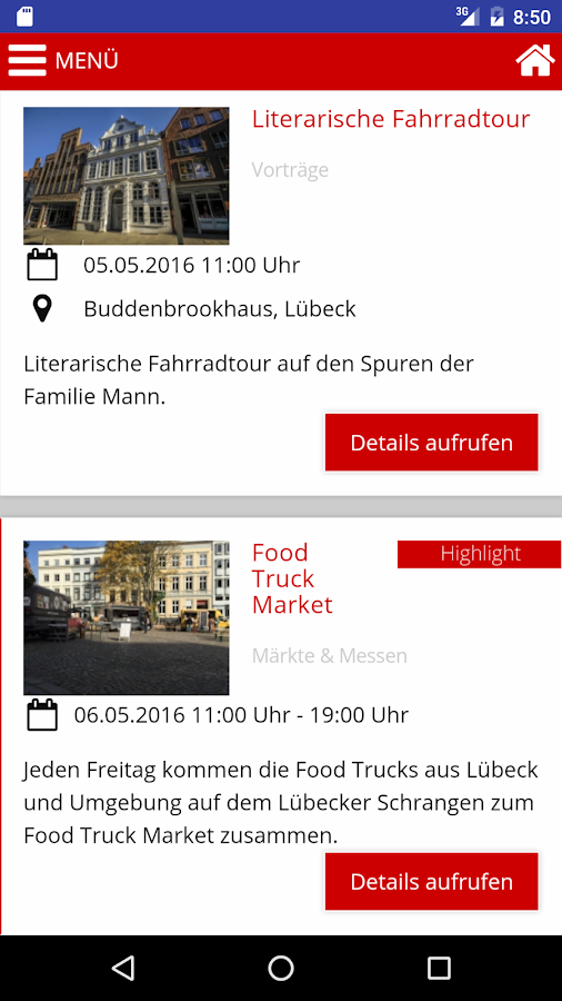 Lübeck Places- screenshot