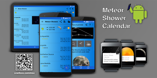 Meteor Shower Calendar- screenshot thumbnail