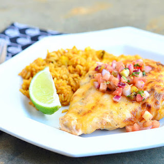 Tequila Lime Chicken with Cheesy Ranch Topping