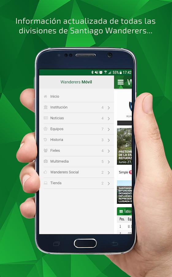 Santiago Wanderers de Valparaíso - Aplicaciones de Android en ...