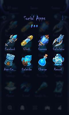 Space Soul Go Launcher Theme - screenshot