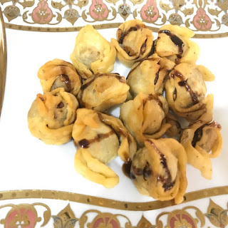Dry Fruit Wontons Recipe
