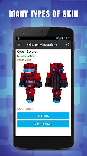 Skins for Minecraft PE 1.6 screenshots 3