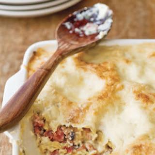 Sara Kate Gillingham-Ryan's White Lasagna with Mushrooms and Prosciutto.