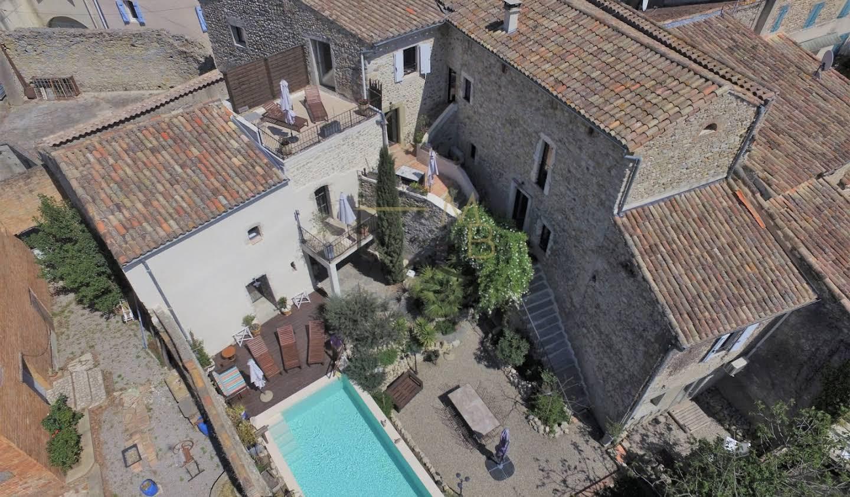 Maison avec piscine et terrasse Ribaute-les-Tavernes