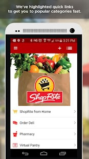 ShopRite- screenshot thumbnail