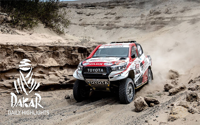 The Paris Dakar Rally Themes & New Tab