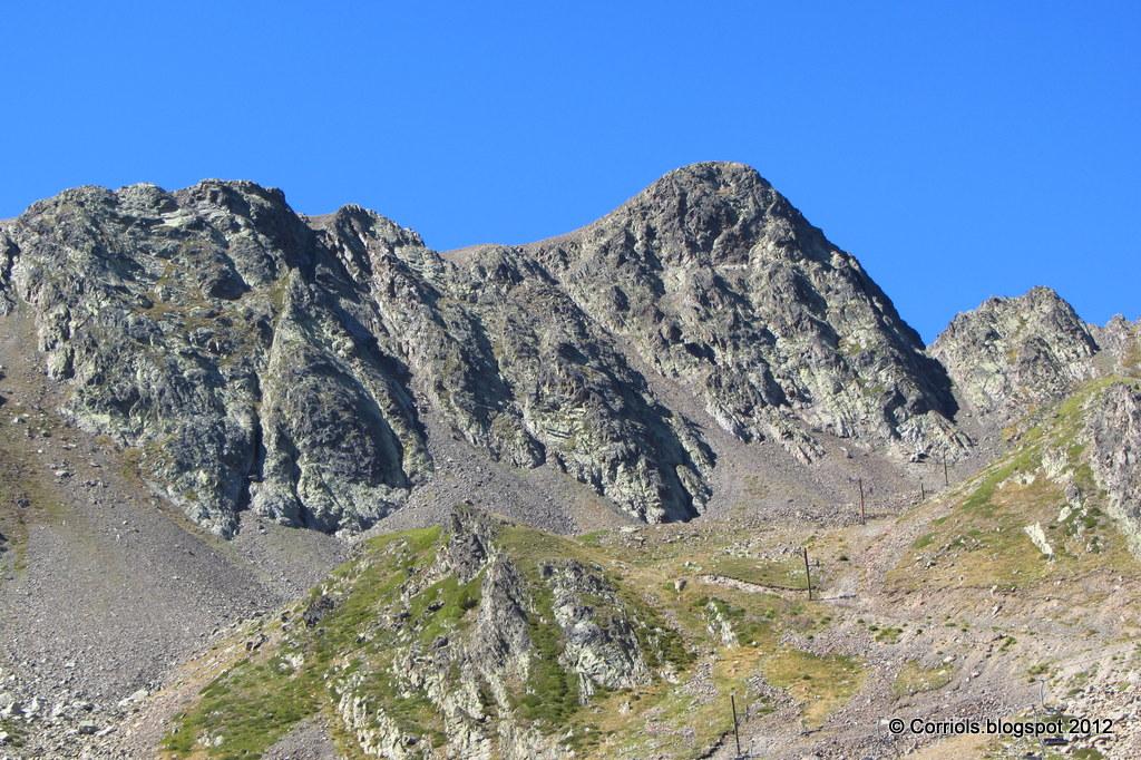 Photo: Cara Nord del Pic Negre d'Envalira