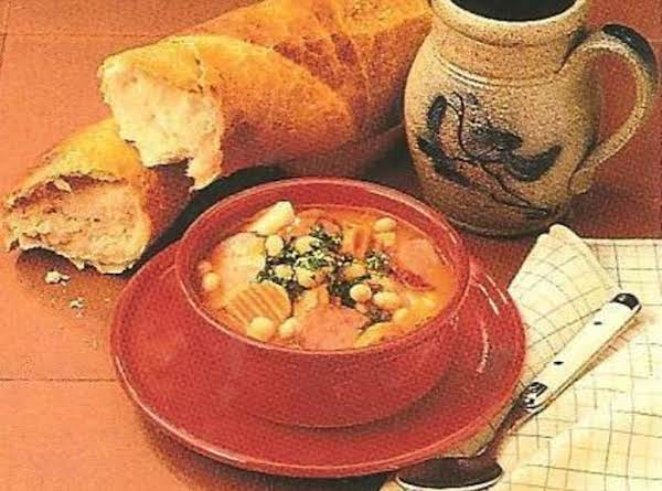 Kielbasa Bean Soup