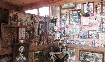 Photo: Wnętrze kapliczki nad Rospudą