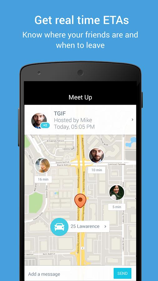 Scout GPS Navigation & Meet Up- screenshot