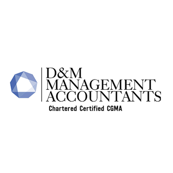 D&M Management Accountants logo