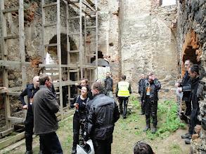Photo: fot. Grzegorz Zyra w ruinach zamku Gryf, Proszówka