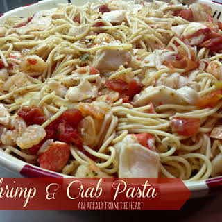Garlic Shrimp And Crab Pasta Recipes.